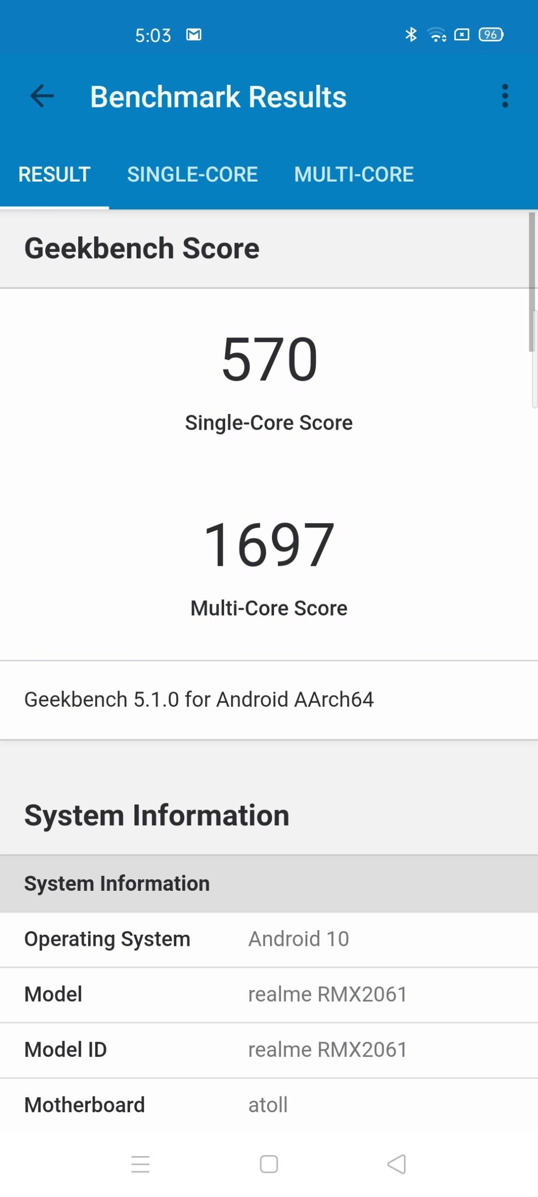 Realme 6 Pro Benchmarks