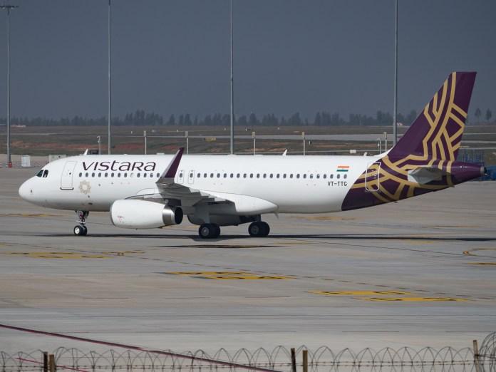 Vistara In-flight WiFi India