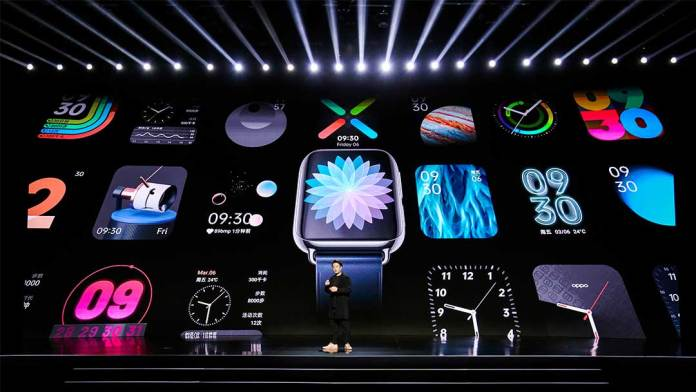 Oppo Watch goes official