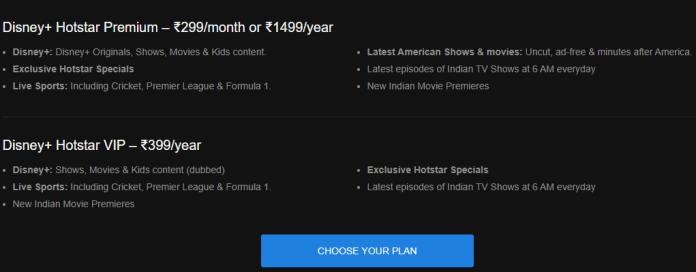 Watch IPL 2020 Disney+ Hotstar's VIP subscription plan
