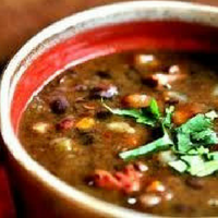Nightshade Free Black Bean Soup Recipe