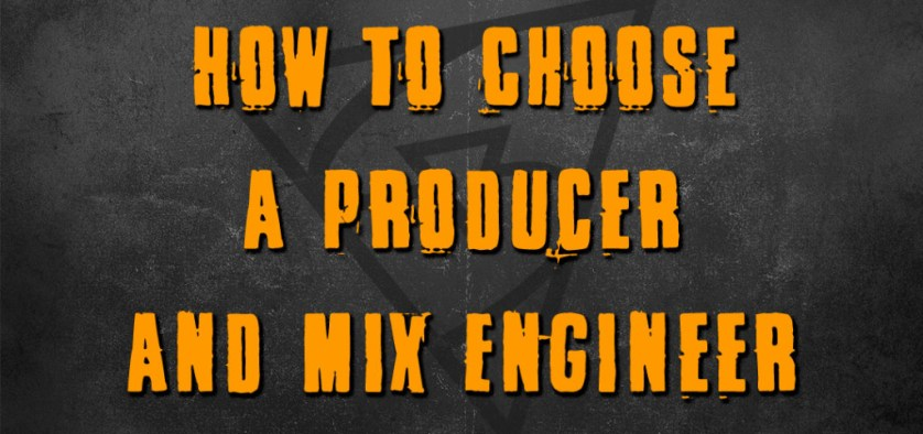 How To Choose A Producer