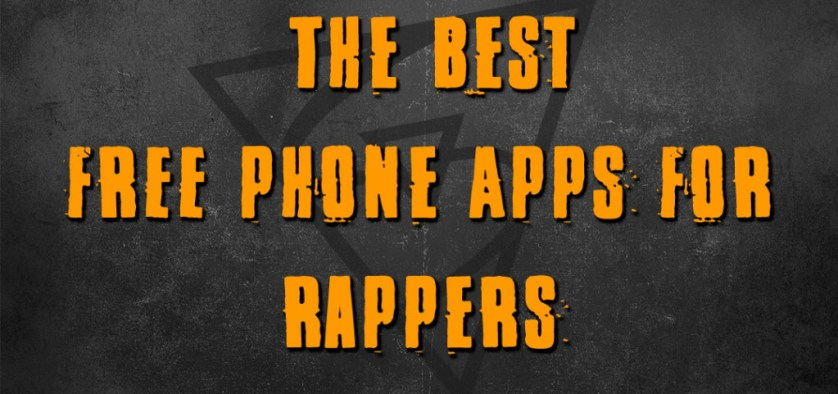 best phone apps for rappers and singers
