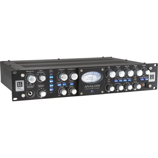 avalon 737SP preamp for rapper vocals
