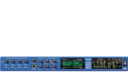 motu traveler preamp for microphone rap vocal