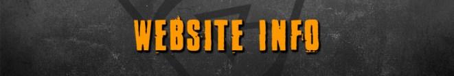 website info