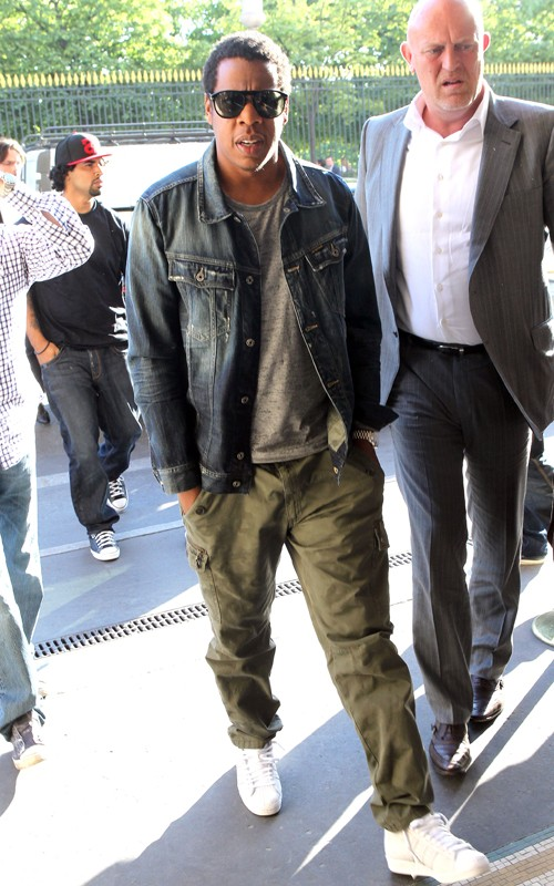 jay-z-persol-sunglasses-g-star-taylor-denim-jacket-cargo-pants-adidas-originals-sneakers