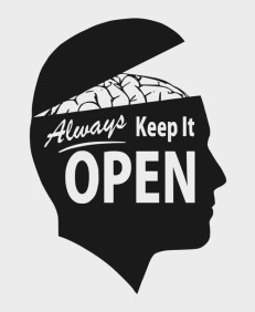 keep your mind open for rappers