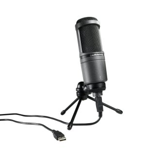 Audio-Technica AT2020USB for rapping