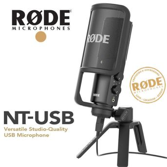 Rode NT-USB for rapping