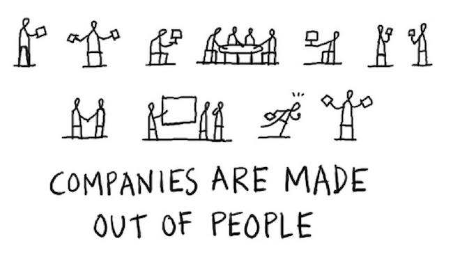 People Work for People First and Companies Second