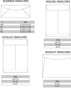 Business size envelope dimensions envelopes printing sizes also rh tomhewitt