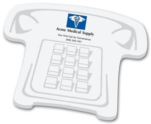 Phone Shaped Sticky Notepads
