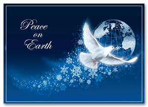 Peace Holiday Cards Peace Dove Holiday Cards