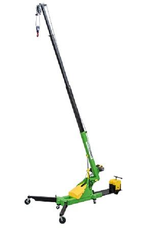 Microcranes® Small Floor Crane Construction Lifting Hoist