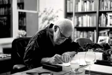 Oliver Sacks trabajando