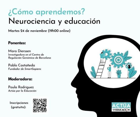 ¿Cómo aprendemos? Neurociencia y Educación