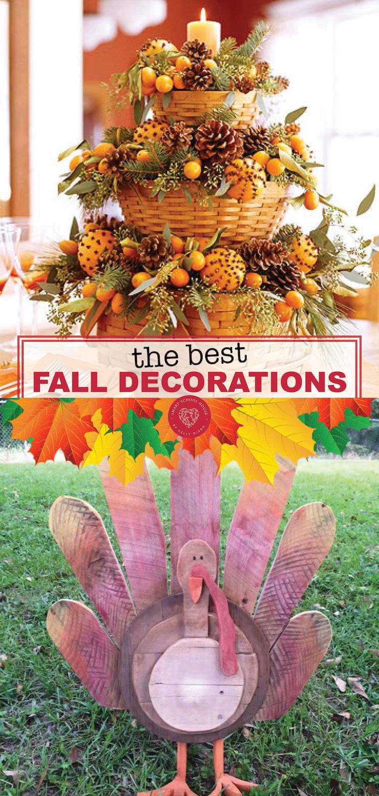 Diy Fall Decoration Ideas Smart School House