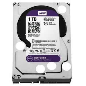 This is a picture of the WD Hard Drive purple 1TB provided by Smart Security in Lebanon