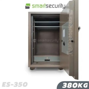 This is a picture of the Eagle safe ES 350 380KG Fireproof Home and Business Safe Box open