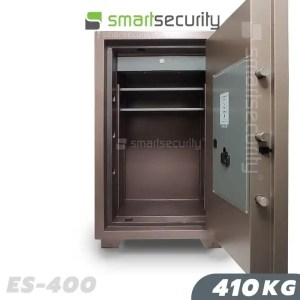 This is a picture of the Eagle safe ES 400 410KG Fireproof Home and Business Safe Box open
