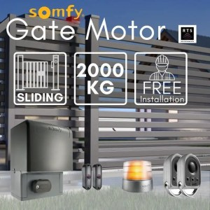 2000KG Sliding Gate Motor Kit Automatic Electric Door with Remote