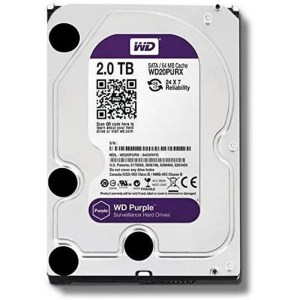 This is a picture of the WD Hard Drive purple 2TB provided by Smart Security in Lebanon