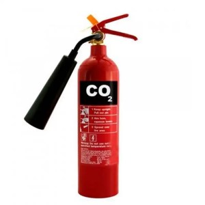This is a picture of the 3 KG CO2 Fire Extinguisher provided by Smart Security in Lebanon