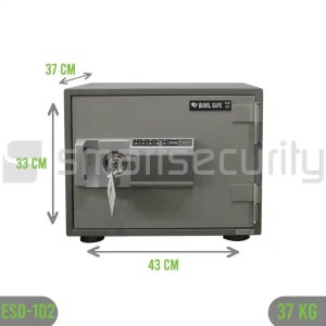 Bumil safe ESD 102 37KG Fireproof Home and Business Safe Box
