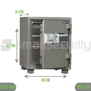 Bumil safe ESD 104 100KG Fireproof Home and Business Safe Box