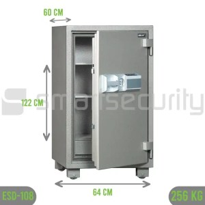Bumil safe ESD 108 265KG Fireproof Home and Business Safe Box