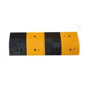 This is a picture of the Road Rubber Speed Bump 1m provided by Smart Security in Lebanon