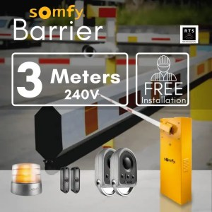3m Boom Barrier for 1200 operations per day