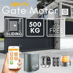 500KG Sliding Gate Motor Kit With Mobile Application Automatic Electric Door with Remote