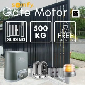 500KG Sliding Gate Motor Kit Automatic Electric Door with Remote