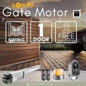 1 Swinging Gate Motorization Kit with Remote For Parking and Garage Door