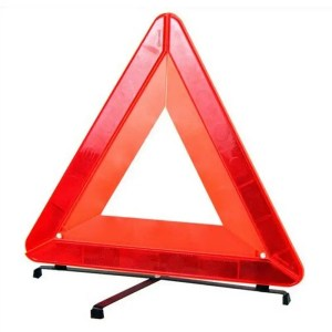 This is a picture of the Reflective Warning Triangle provided by Smart Security in Lebanon
