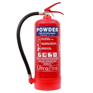 This is a picture of the 6 KG Powder Fire Extinguisher provided by Smart Security in Lebanon