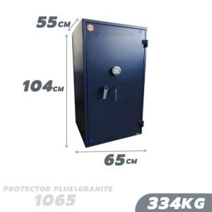 334 KG VALBERG PROTECTOR PLUS / GRANITE 1065 ANTI-BURGLARY SAFE GRADE I