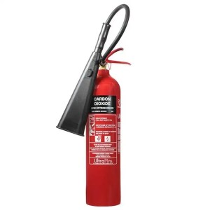 This is a picture of the 5 KG CO2 Fire Extinguisher provided by Smart Security in Lebanon