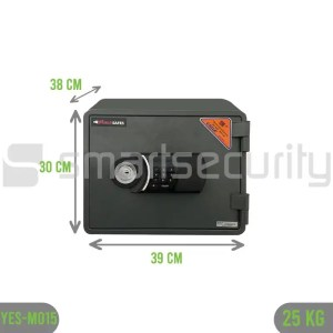 25KG Fireproof Home Business Safe Box YES-M015