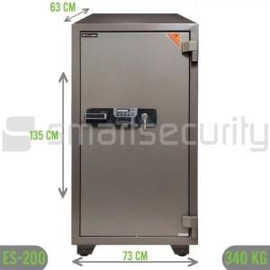 Eagle safe ES 200 340KG Fireproof Home and Business Safe Box