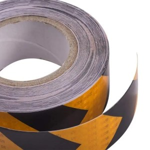 This is a picture of the Reflective Warning Tape provided by Smart Security in Lebanon_11