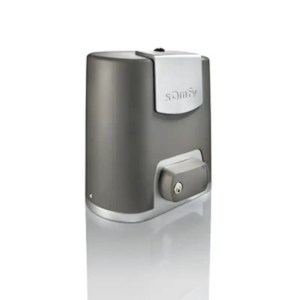 This is a picture of the Somfy ELIXO 500 3S IO PACK CONNECT Sliding gate opener provided by Smart Security in Lebanon