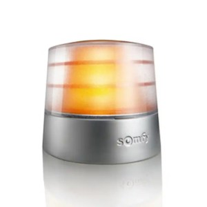 This is a picture of the Somfy AMBER LIGHT MASTER PRO 24V provided by Smart Security in Lebanon