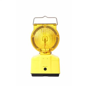 This is a picture of the TRAFFIC ROAD WARNING Light SOLAR Powered provided by Smarty Security in Lebanon_3