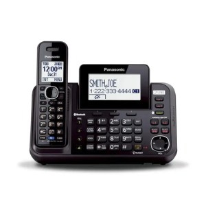 Panasonic 2-Line Cordless Phone with Link-to-cell
