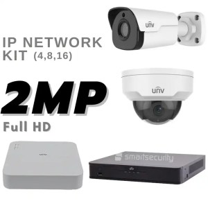 2 MP Full HD 1080P IP NETWORK KIT Camera Kit Security System from Hikvision