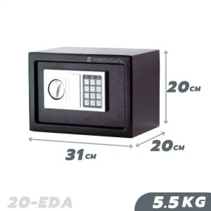 Black Color Home or Hotel Safe with Electronic Lock 20eda