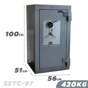 This is a picture of the SALVADO Safe COBRA SSTC 97 420KG FIRE AND BURGLARY SAFE provided by Smart Security in Lebanon